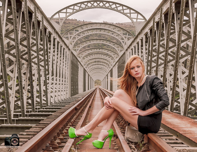 Sian Sian  Kei bridge by Studiobay - Cool Shoes Photo Contest