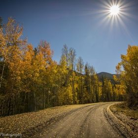 Fall on Marshall Pass in Colorado