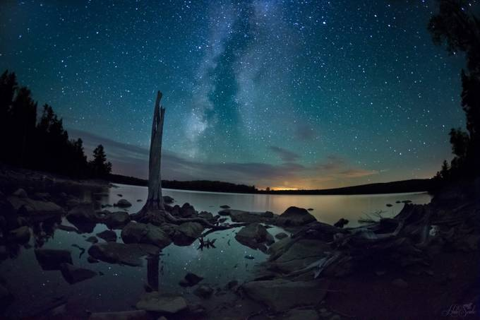 Milky Way over Moosehead Lake by HaliSowle - PhotographyTalk Photo Contest Volume 2