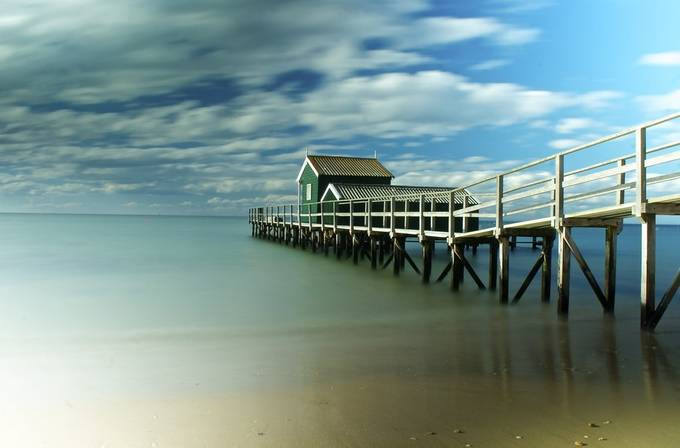 Shelly beach by dellish - Cloud Painting Photo Contest