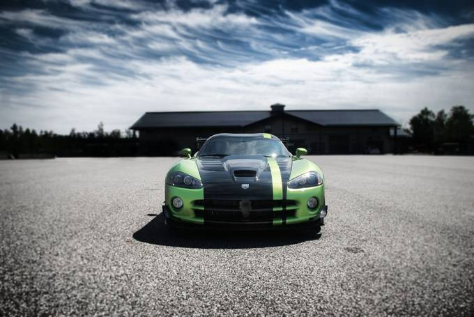 Green Machine by TimmyLancaster - My Favorite Car Photo Contest