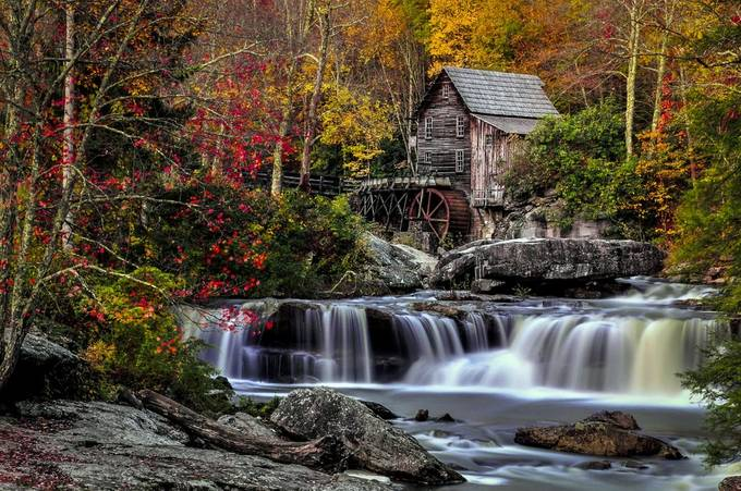 Glade Creek Mill BSP 2 by stephanherzog - Long Exposure Views Photo Contest