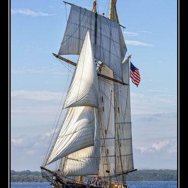 Pride of Baltimore II in the the Great Chesapeake Schooner Race
