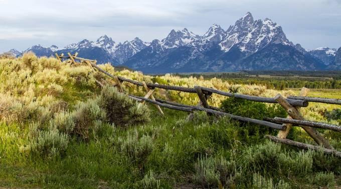 Grand Teton by mclaybaugh - Fences Photo Contest