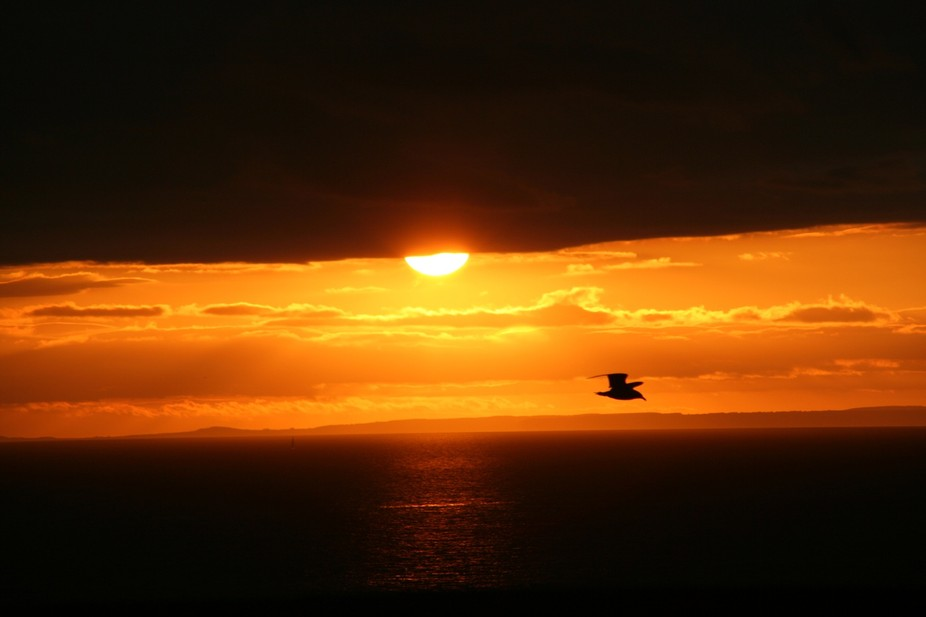 Sunset, Portland, Dorset