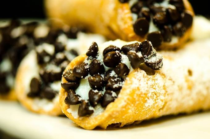 homemade chocolate chip cannolis by wheelerdealer - Looks Delicious Photo Contest