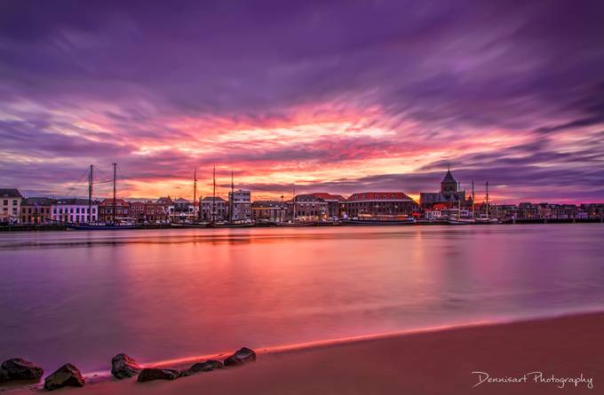 Kampen in colours by DennisartPhotography - Sunset In The City Photo Contest