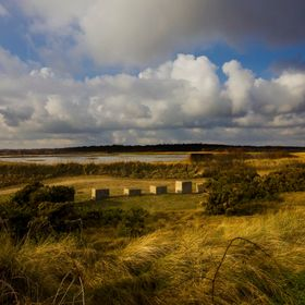 WW2 coastal defences form part of the Suffolk countryside