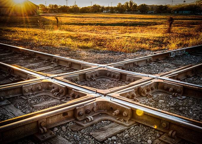 Crossing Paths by mattsouthard1 - Diagonal Compositions Photo Contest