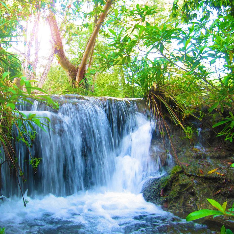 My little waterfall