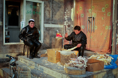 Butchers near Jingshuan
