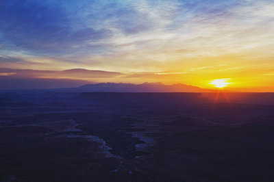 Sunrise Over Buck Canyon