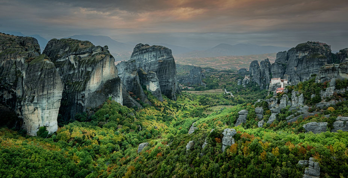 Monastaries of Meteora by timpryce