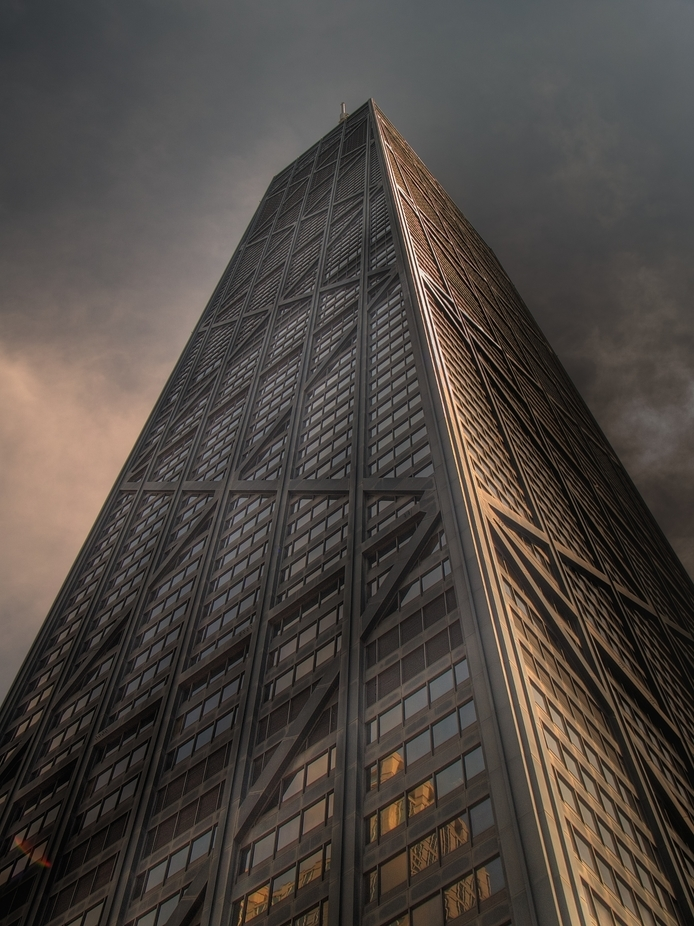 John Hancock Building by Davehook - Tall Structures Photo Contest