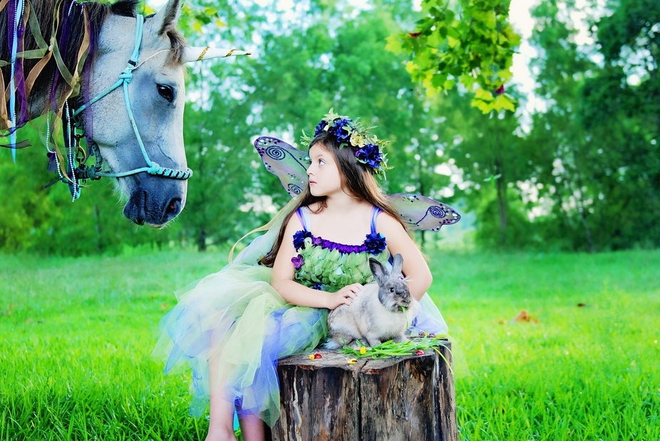 Another photo from the fairytale session.