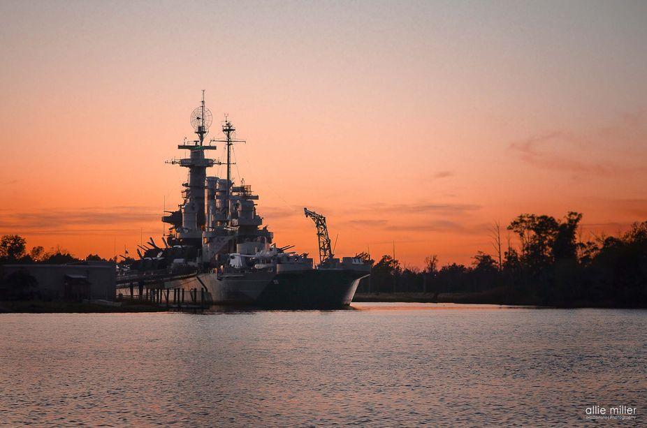 The USS North Carolina Battleship, located in Wilmington NC | The USS North Carolina (BB-55) was ...