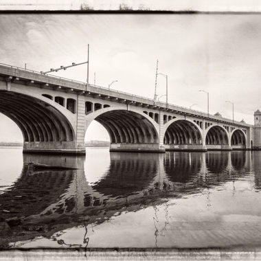 Hanover Street Bridge (Baltimore) that crosses into Brooklyn, Md.