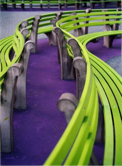 A study in Green and Purple