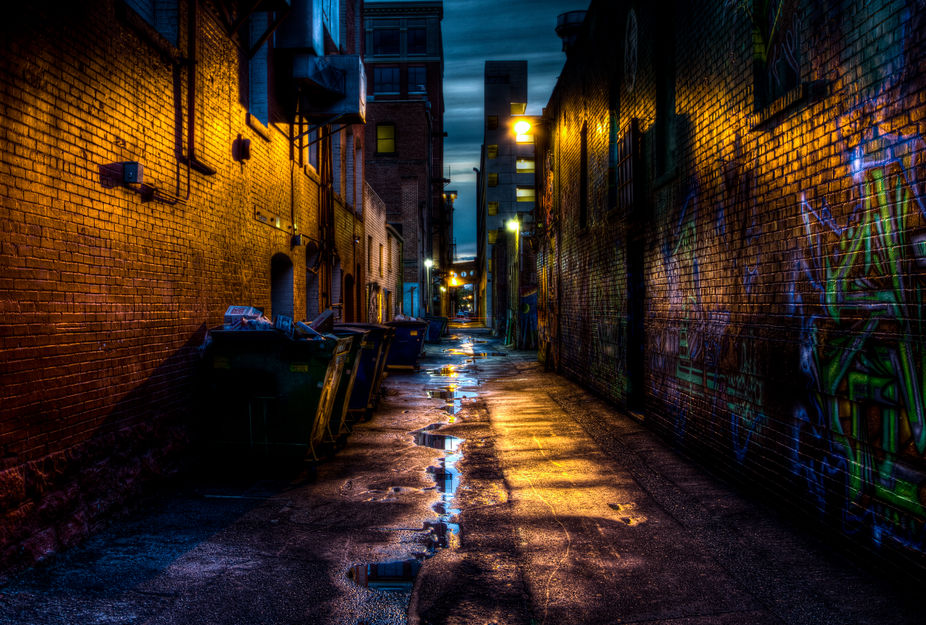 Enter the Alley of Freaks