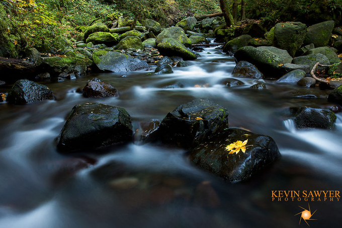The Lonely Leaf by kevinsawyerphotography - Boulders And Rocks Photo Contest