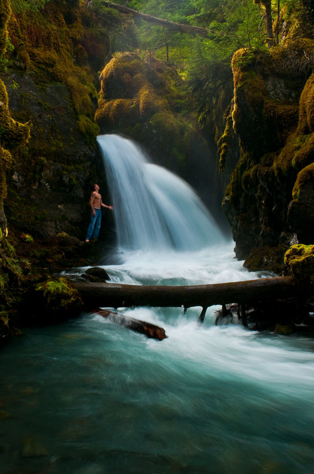 Secret Falls by CrowFoxCarol - Beautiful Waterfalls Photo Contest