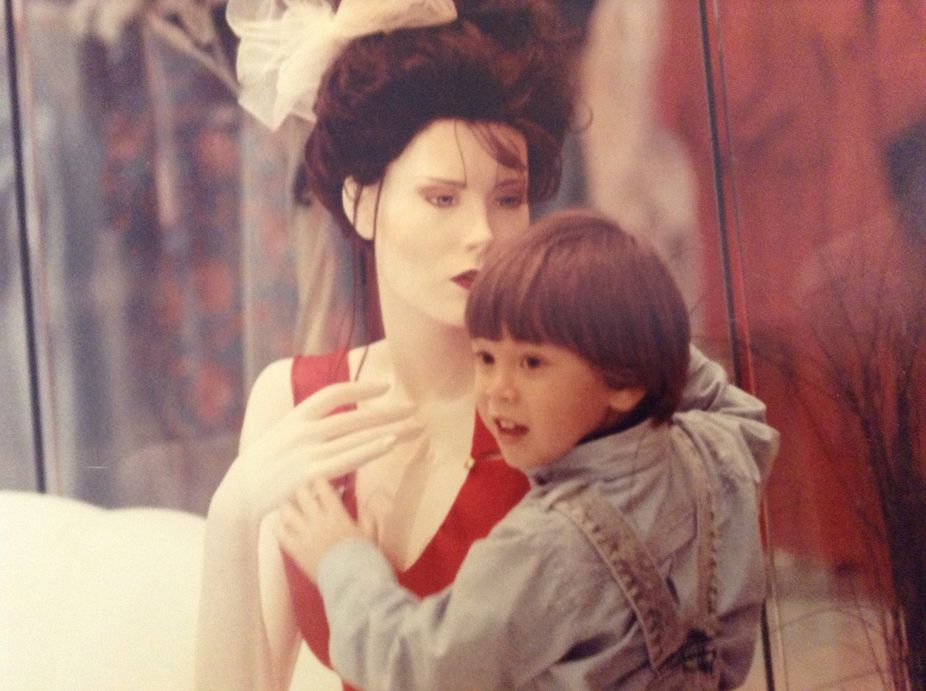 Mannequin and Child