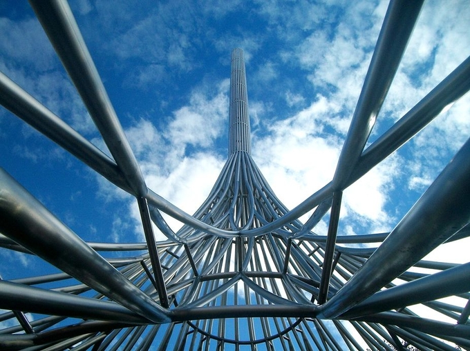 Metal Memorial by hello7671 - Twisted Lines Photo Contest