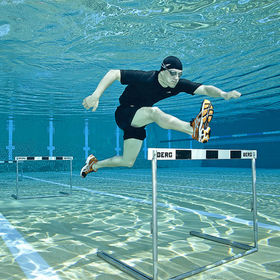 Hurdle Swimmer