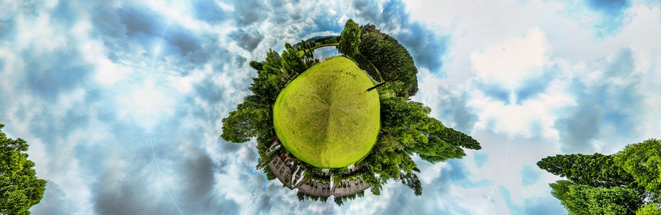 Made from a 360 degree panorama taken in The Midlands, South Africa.    Thank you for looking at ...