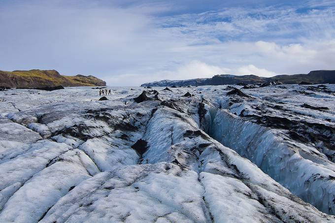 Icelandic Glacier by stuarthowarth - Adventure Bound Photo Contest