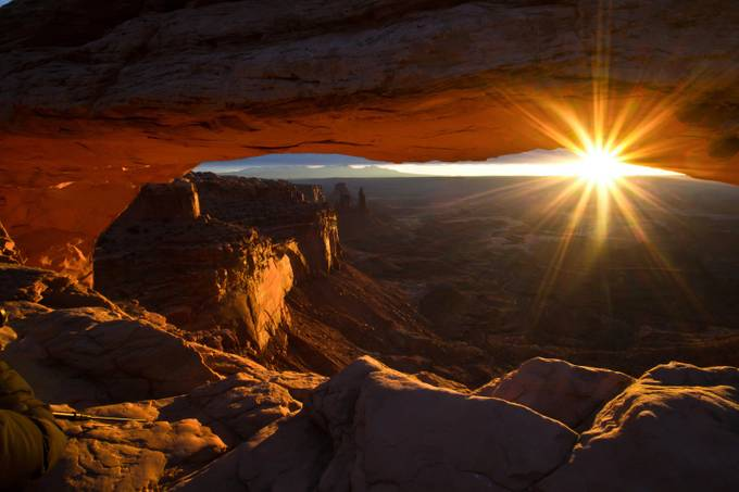 Mesa Arch Sunrise 2 Winter 2012 by jaredweaver - Flares And Glitter Photo Contest