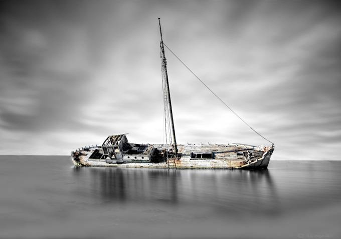 Old Wreck by Holister - Ships And Boats Photo Contest