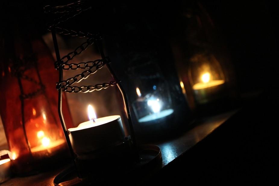 warm lights