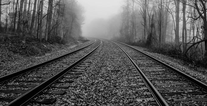 20130112_WestSpringfield_Tracks-6-4 by DanGirardPhotography - Empty Railways Photo Contest