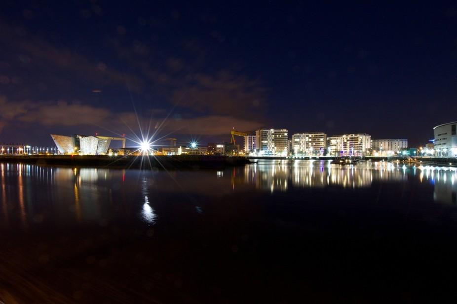 Titanic Quarter After Dark - #FlickrFriday