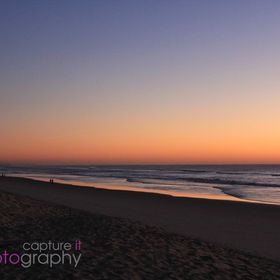 This winter sunrise was captured as the sun rose over the ocean in the early morning in Queensland on the Gold Coast. We just love the colour in ...