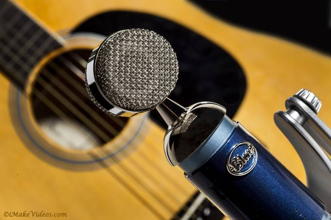 Blue - Guitar by KelThompson - Commercial Style Photo Contest