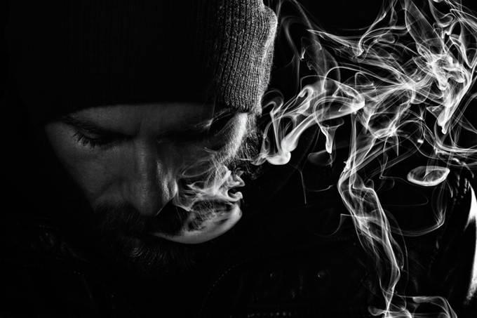 Smoke by Ivana_Mi - Dark Portraits Photo Contest
