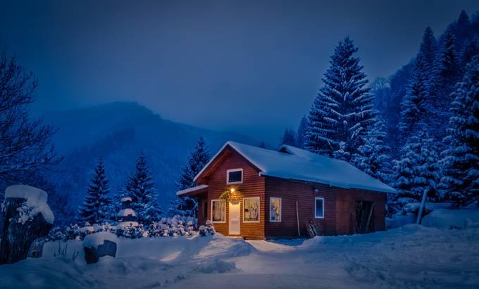 winter landscape by gabyrusu - We Love The Winter Photo Contest