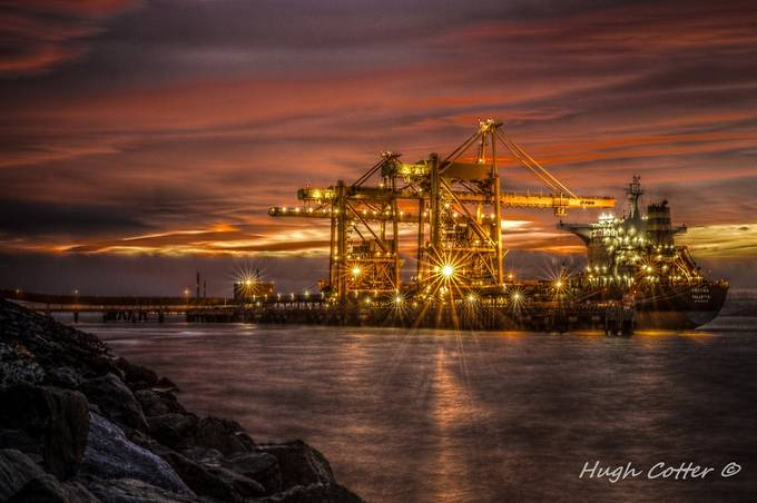 Coal Ship by HughCotter - Industry Photo Contest