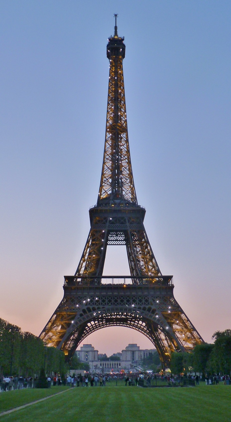 Eiffel at Twilight by TinaSuz - Paris Photo Contest