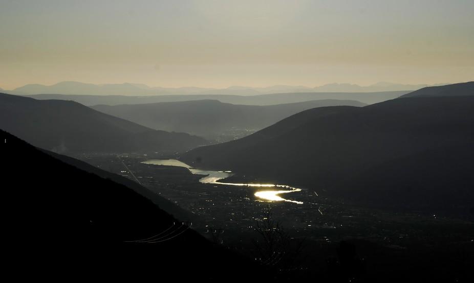 Neretva, snake river