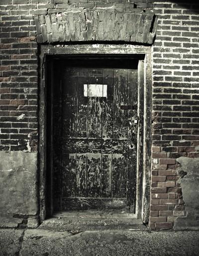 Faded Door