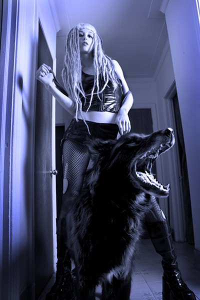 Goth Girl and Growl