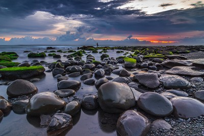 Behind The Lens With budiastawa - Boulders in Selabih Beach