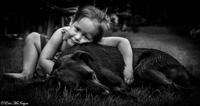 Puppy Love by EricMcIntyre - I Heart Animals Photo Contest