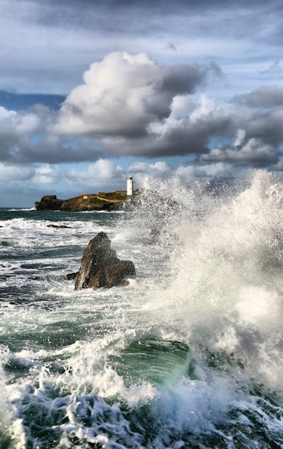 Godrevy Lighthouse, St Ives Bay, Cornwall