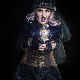 part of a sci fi/steampunk inspired shoot that will be turned into a sci fi mock film poster.