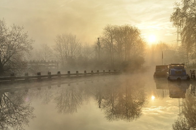 Morning in Hackney by DGMphotographic - Lost In The Fog Photo Contest