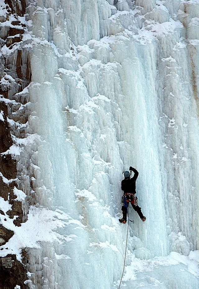 Ice climb-2 by bagsgroove - Outdoor Action and Adventure Photo Contest by Focal Press